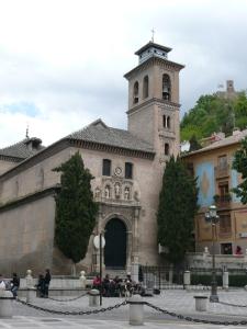 Granada, Plaza Santa Ana
