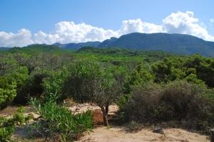 Landschap Zuid-Sardinië