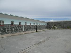 De luchtplaats, waar Nelson Mandela vele uren heeft doorgebracht