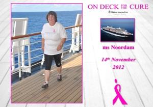 Louky aan boord van de MS Noordam