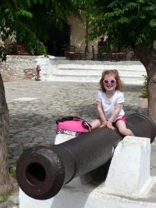 Het kanon op het plein